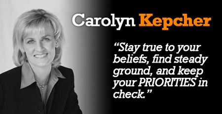 Interview - Carolyn Kepcher
