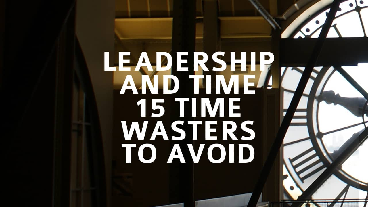 15 Time Wasters