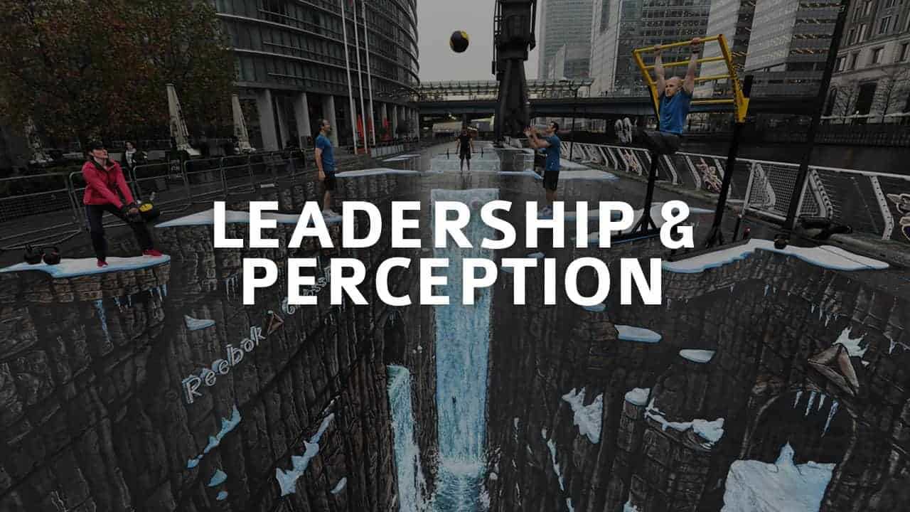 a perception of leadership Since its original publication in 2000, leadership and self-deception has become a word-of-mouth phenomenon its sales continue to increase year after year, and the.