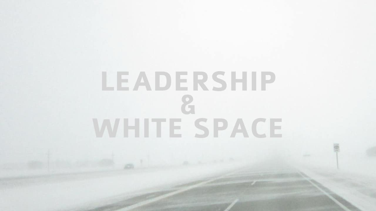 Leadership and White Space