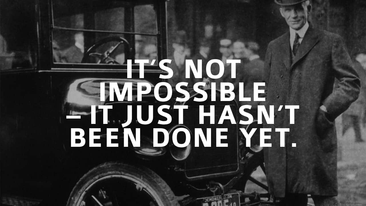 Leaders - Nothing is Impossible