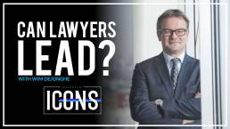 can lawyers lead with wim dejonghe